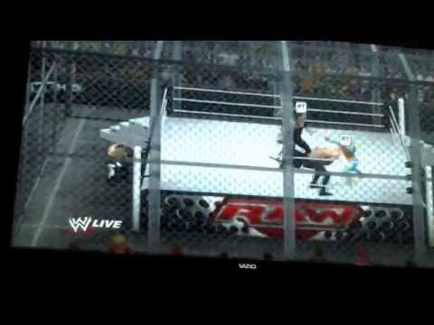 WWE 2012 h*** in a cell: This prison can't hold us