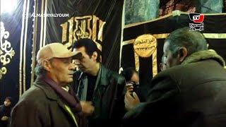 فاروق الفيشاوي وهاني رمزي يقدمان واجب العزاء لأحمد سعيد عبد الغني