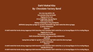 Dahil Mahal Kita By Chocolate Factory Band