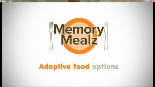 Dementia Food - Memory Mealz - Soup & Salad - No Utensils Needed!