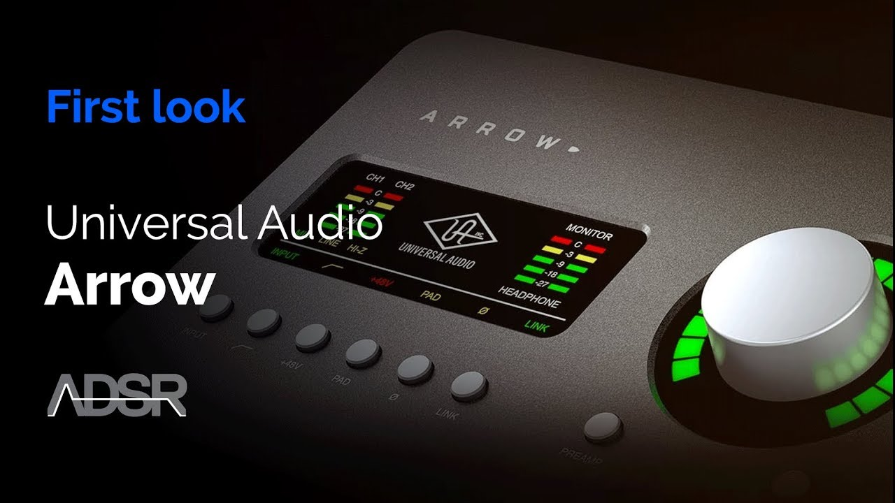 Universal Audio ARROW - First look + WIN an Arrow from Universal
