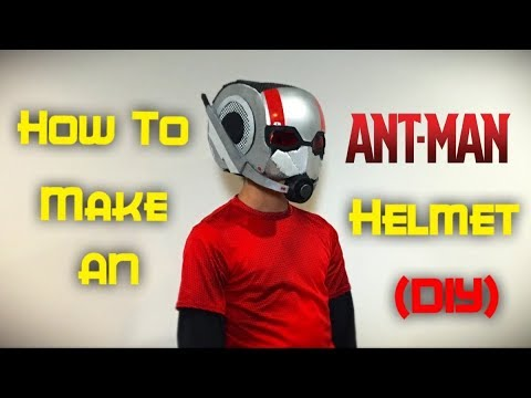 DIY Ant-Man Helmet! (Ant-Man and The Wasp)