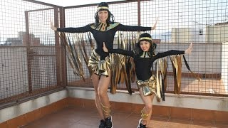 TUTORIAL DISFRAZ EGIPCIAS CARNAVAL - BAILE - by ALEXITY