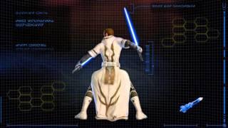 SWTOR видео - прогресс развития Рыцаря Джедая