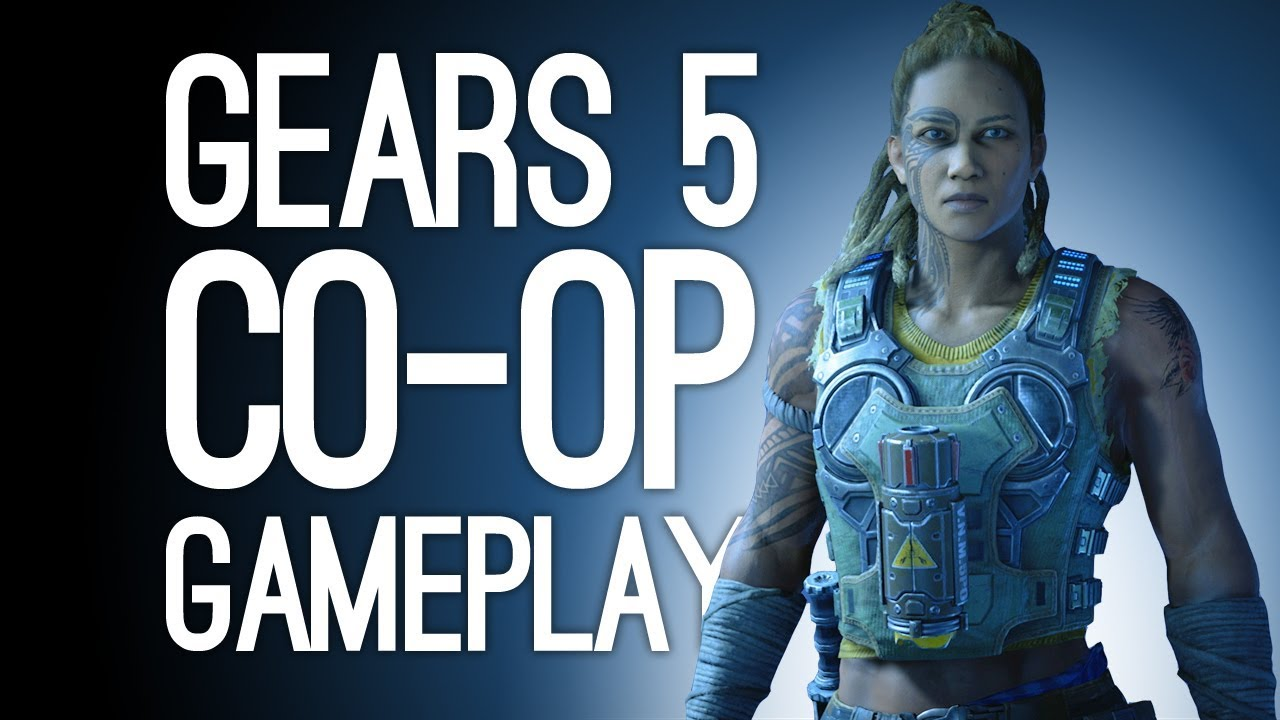 Gears of War 5 Gameplay! Let's Play Gears 5 Co-op - GET WRECKED, HIVE thumbnail