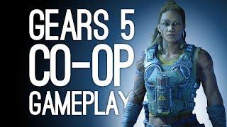 Gears of War 5 Gameplay! Let's Play Gears 5 Co-op - GET WRECKED, HIVE