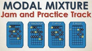 Modal Mixture / Mixolydian b6  Jam + Practice Track