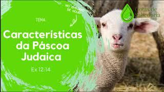 Gotas de Sabedoria - #EP04 - Características da Páscoa judaica - (Êx 12.14)