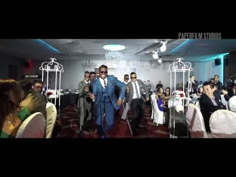 Best Wedding Entrance Singapore 2016 | Shawn & Nanthini ROM Reception [Groom]