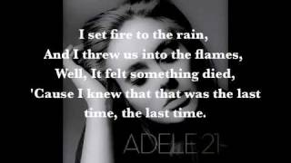 Download Mp3 Adele   Set Fire To The Rain Lyrics