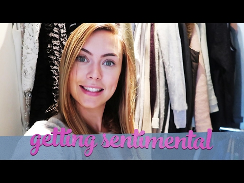 Getting Sentimental | Wardrobe Clear out
