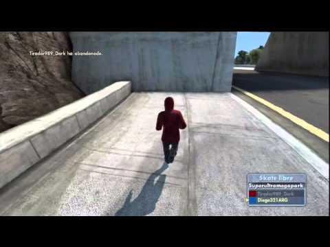 Super salto de Skate3 HD Videos De Viajes