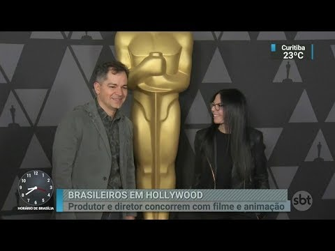 Dois brasileiros podem estar entre os vencedores do Oscar   SBT Brasil (03/03/18)