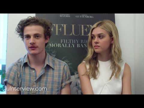 Ben Rosenfield & Nicola Peltz On 'Affluenza'