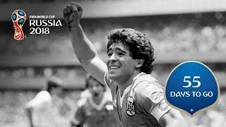 55 DAYS TO GO! Maradona