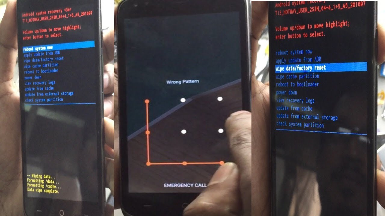 how to reset a boost mobile phone when its locked