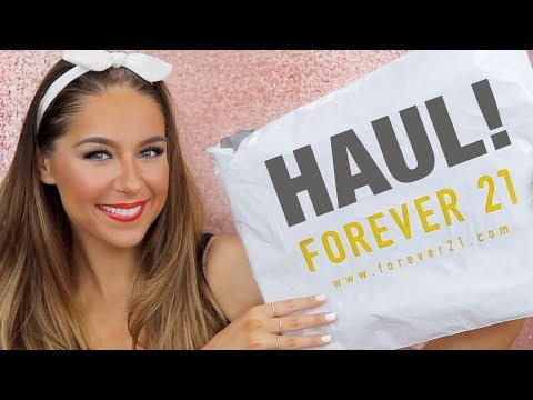 Forever 21 Haul | Jewelry, Accessories & Clothes