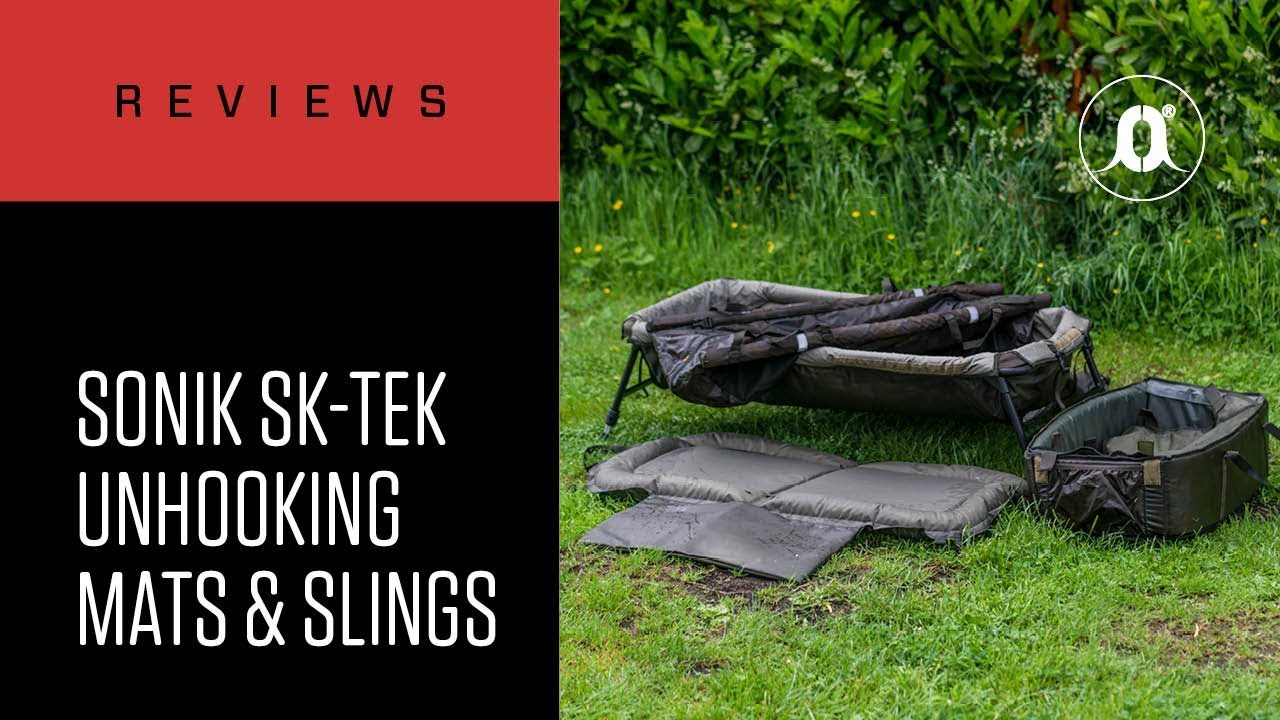 Sonik SK-Tek Framed Cradle abhakmatte pour carpes