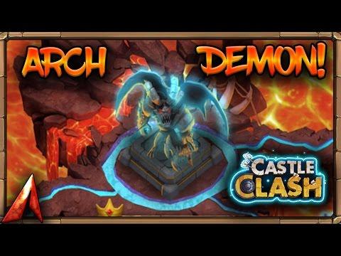 Castle Clash ArchDemon No Demogorgon Strategy!