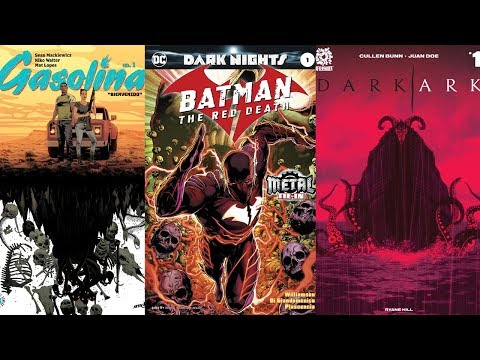 Comic Book Reviews from Pete's Basement Season 10, Episode 35 - 9.27.17