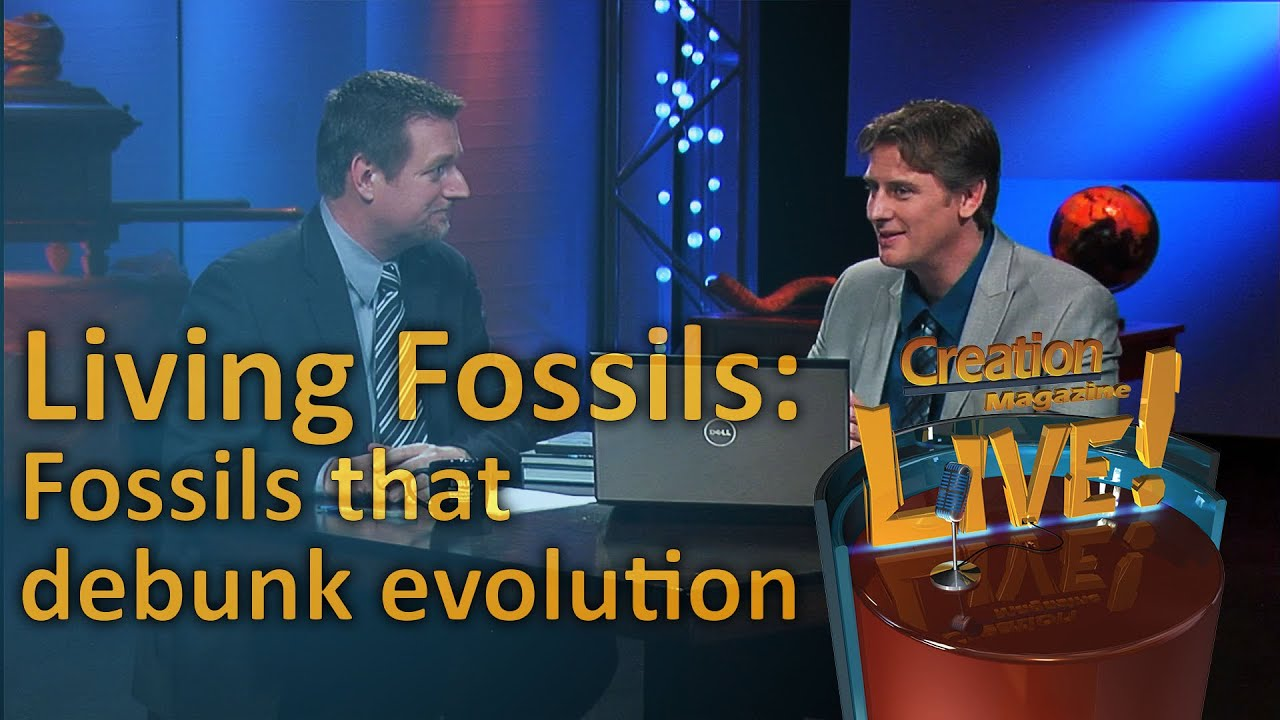 Living Fossils: Fossils that debunk evolution (Creation Magazine LIVE! 4-05) by CMIcreationstation