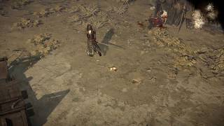 Path of Exile: Wasteland Footprints