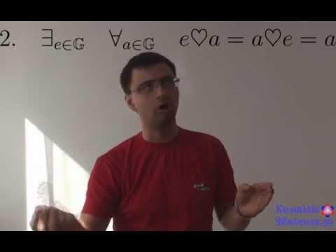 Grupa w Matematyce, Struktura Algebraiczna (Matematyka)