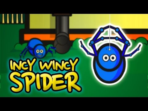Incy Wincy Spider | Nursery Rhyme With Lyrics | Classic English Rhymes For Kids
