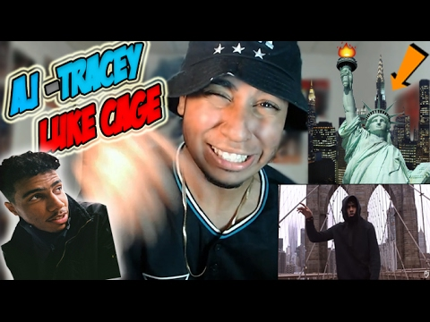AJ CAME TO MY HOOD! AJ Tracey - Luke Cage (Official Video)(UK Rap / Trap / Grime REACTION) @ajtracey