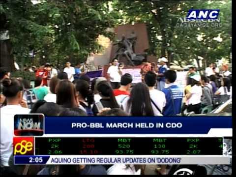 Civil society groups walk for BBL in CDO