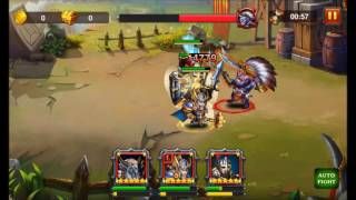 Heroes Charge: Raged Blood difficulty 9