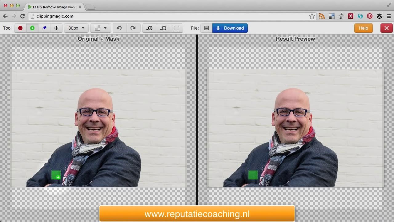 Achtergrond Foto Verwijderen App