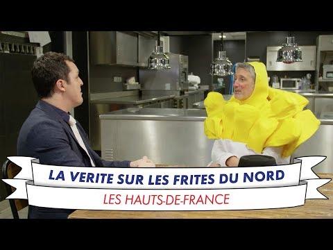 Antoine de Caunes perce le secret des meilleures frites du Nord de la France !