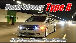 Honda Odyssey RB1 K24 Type R 6 Speed Manual