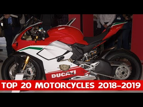 Top 20 Motorcycles 2018 2019 | Top 20 Motorcycles At The Progressive International Motorcycle Show