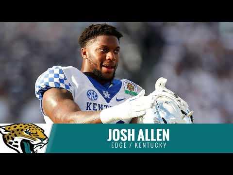 2019 NFL Draft: Jacksonville Jaguars draft Josh Allen