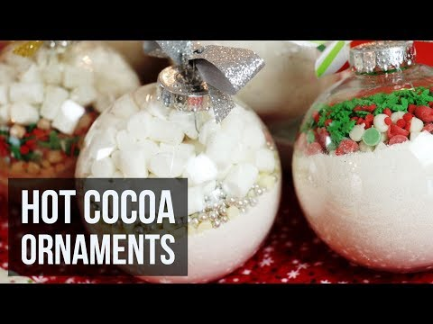 Hot Cocoa Ornaments | Easy DIY Christmas Craft & Recipe by Forkly
