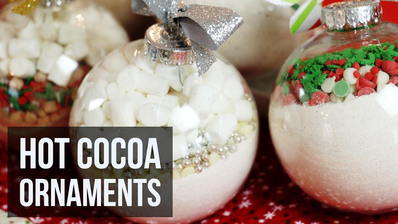 Hot Cocoa Ornaments | Easy DIY Christmas Craft & Recipe by Forkly ...