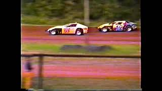Cottage Grove Speedway Modified Race from unkown date in 1993