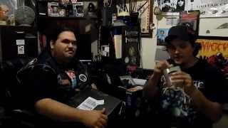 Cheesymetal opening the Monthly Metal Merch Box August 2014