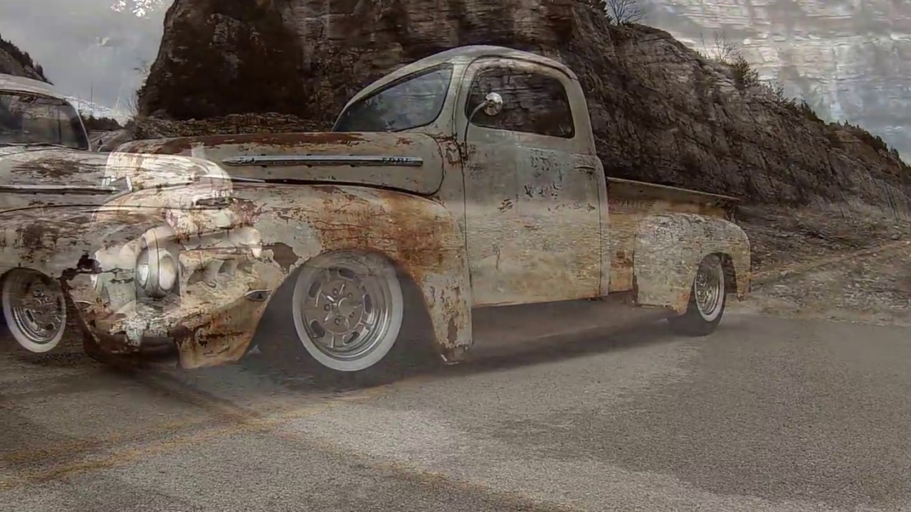 1951 Ford F1 Crack Head Full Custom Resto Rat Rod Pickup Patina 1952 Hot Truck Pics Body For Sale Now