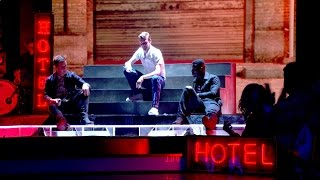Ricky Wilson & his team perform Stay With Me - The Voice UK 2015: The Live Semi-Final - BBC One