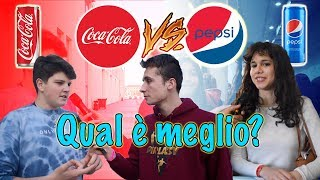 Coca Cola VS Pepsi - Gli ITALIANI Cosa Preferiscono? ● Interviste Ignoranti