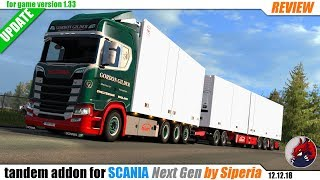 "[""BEAST"", ""Review"", ""Let's Play"", ""EuroTruckSimulator2"", ""ETS2"", ""ETS2ModsReview"", ""DLCBeyondTheBalticSea"", ""Tandem addon for Next Gen Scania"", ""Siperia""]"