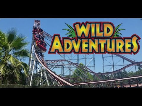 Wild Adventures Theme Park Tour & Review in Valdosta GA