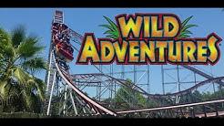 Wild Adventures Theme Park Tour & Review in Valdosta GA