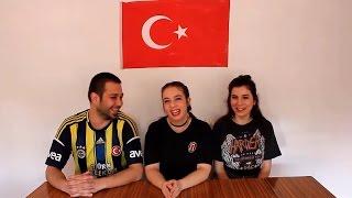 Yabancılara Türk Yemeklerini Denettik/ Foreigners Try Turkish Foods