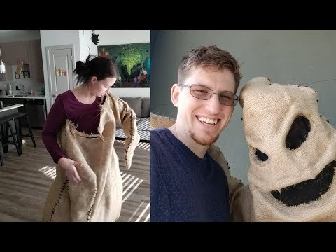 Making My Oogie Boogie Costume And Halloween Decor Shopping October Vlog Youtube High quality mr oogie boogie gifts and merchandise. making my oogie boogie costume and halloween decor shopping october vlog