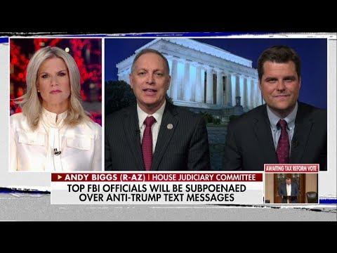 Andy Biggs Slams Robert Mueller Probe