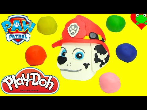 Paw Patrol Pup Squirters Play Doh Surprise Marshall Guess